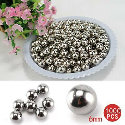 AU25.99 • Buy 1000PCS 6mm Steel Loose Bearing Ball Replacement Parts Bike Bicycle Cycling AU