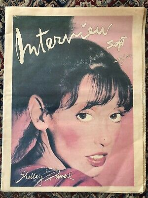 $39.95 • Buy Andy Warhol's Interview Magazine Shelley Duvall Cover Sept 1977