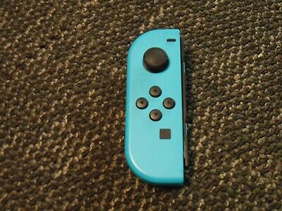 $35 • Buy Genuine Original Nintendo Switch Joy-Con (Left)  - Neon Blue -Excellent-