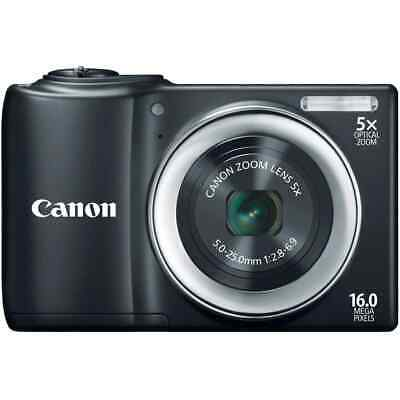£101.40 • Buy NEW Canon PowerShot A810 16.0MP Digital Camera - RED