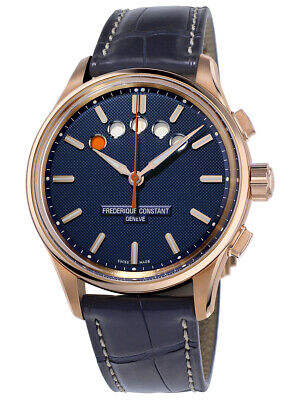 $1199.99 • Buy Frederique Constant Men's Automatic Yacht Timer Rose Gold 42mm Watch FC-380NT4H4