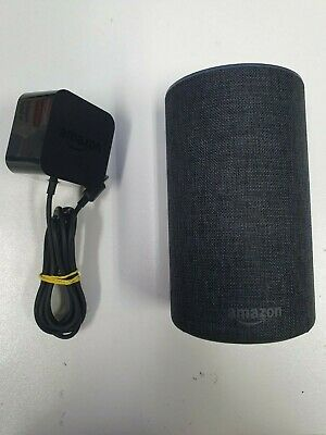 AU1.25 • Buy Amazon - Echo - 2nd Gen Smart Speaker - Charcoal Fabric - Bids From $1