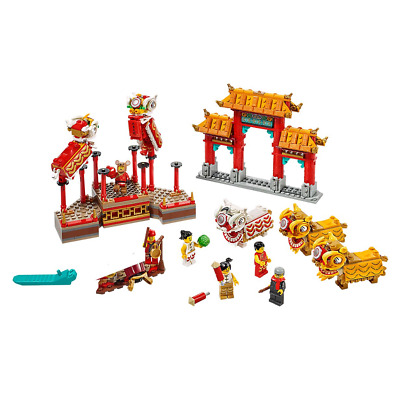 $129.99 • Buy LEGO 80104 Chinese New Year Lion Dance 882pcs New In Hand Free Shipping