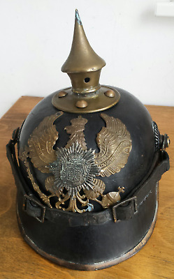WW1 German Pickelhaube Spiked Helmet  • 250£