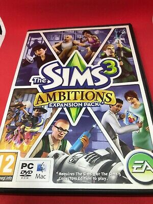 The Sims 3 Ambitions (PC / MAC) Free Uk Delivery • 3.98£