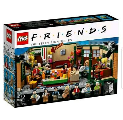 $82.99 • Buy HTF LEGO Ideas Friends Central Perk 21319 Brand New Free Priority Ship SOLD OUT