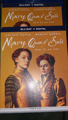 $19.99 • Buy MARY QUEEN OF SCOTS (Blu-Ray + Digital + Slipcover) NEW