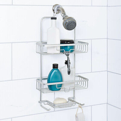 AU39 • Buy Home NeverRust Hanging Aluminum Shower Caddy,Bathroom Shelf Storage Organiser