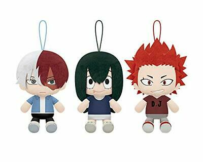 $ CDN59.31 • Buy My Hero Academia Sit Plush Doll Stuffed Toy 3 Set Todoroki Asui Kirishima JAPAN