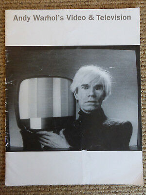 $41.50 • Buy Whitney Museum Catalog / Hanhardt - Andy Warhol's Video & Television - RARE
