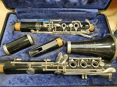 $18.30 • Buy Vintage Bundy Selmer Resonite Clarinet With Hard Carry Case