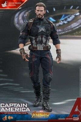 $249.99 • Buy Hot Toys Avengers: Infinity War Captain America (Movie Promo Edition) - MMS480