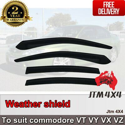 AU69.34 • Buy Weather Shield Window Visors Weathershield Holden Commodore VT VY VX VZ 1997-07