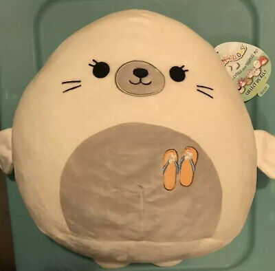 $ CDN23.82 • Buy Squishmallows Lucille The Seal Plush 12  Super Soft Summer 2019 Limited Edition