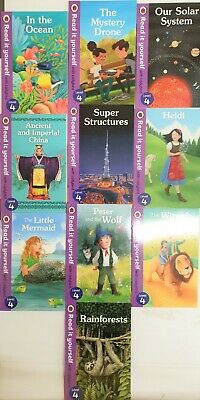 Read It Yourself With Ladybird Level 4,10 Books Collection Brand New Version • 28.99£