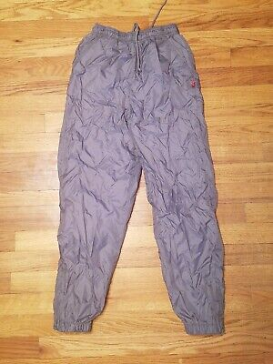 $6.75 • Buy SPORTRAX Gray Lined Snow/Ski/Snowboard Pants Size M (10/12) Elastic & Zip Ankles