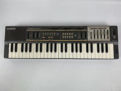 $29.99 • Buy Casio MT-100 Casiotone Keyboard Synthesizer Graphic Equalizer FOR PARTS - BROKEN