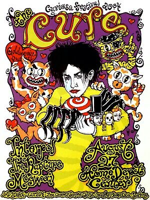 £10.50 • Buy 0834 Vintage Music Poster Art - The Cure