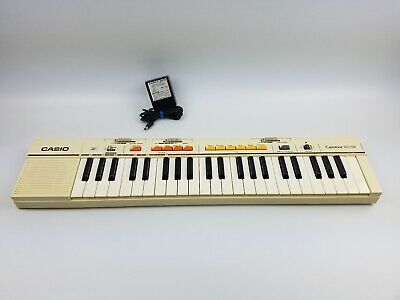 $74.99 • Buy Vintage Casio Casiotone MT-35 Electronic Keyboard Synthesizer With Ac Adapter