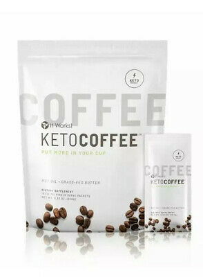 $24 • Buy It Works Keto Coffee 15 Servings BRAND NEW PACKAGING