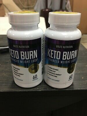 $12.99 • Buy Brute Nutrition (2 Bottles)Keto Burn - Advanced Weight Loss, 60 Caps, Exp 5/2021