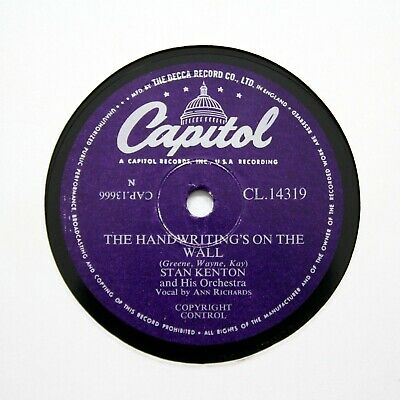STAN KENTON ORCHESTRA  The Handwriting's On The Wall  (E+) CAPITOL CL-14319 [78] • 6.12£