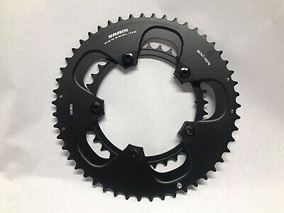 $64.99 • Buy New SRAM Power Glide Chainring Set 50/34t 10 Speed 110 BCD