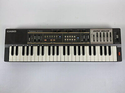 $99.99 • Buy Casio MT-100 Casiotone Keyboard Synthesizer Graphic Equalizer Tested Works Great