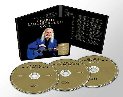 £6.99 • Buy Charlie LANDSBOROUGH GOLD New Deluxe Edition 3CD Digipack - Released 21/02/2020