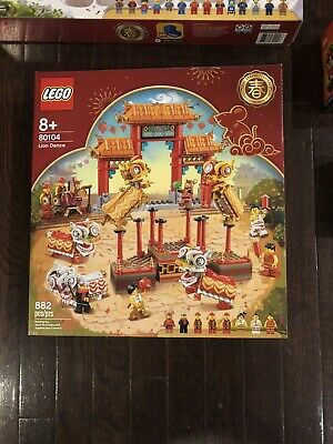 $150 • Buy LEGO Chinese New Year 80104 Lion Dance - **sourced Directly From Lego Store**