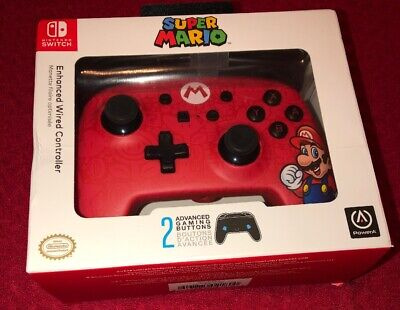 $18.99 • Buy Wired Mario Controller For Nintendo Switch - Red Brand New Sealed