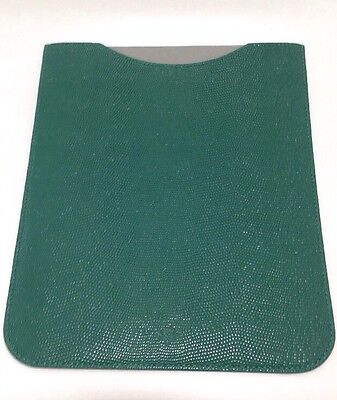 $115.77 • Buy Mulberry IPad Case Cover Sleeve Green Shiny Goat Leather
