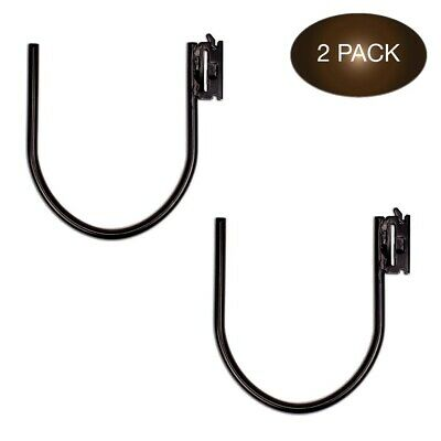 "$18.95 • Buy E-Track Large 7"" J Hook Tie Down Accessory (2 Pack) For Enclosed Trailer/RV..."