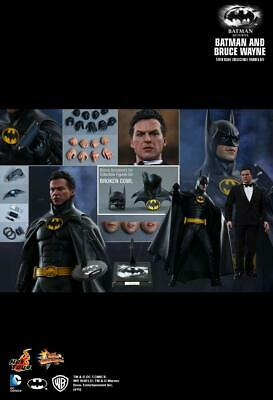$ CDN992.44 • Buy Hot Toys MMS294 - DC Comics - Batman Returns - Batman And Bruce Wayne