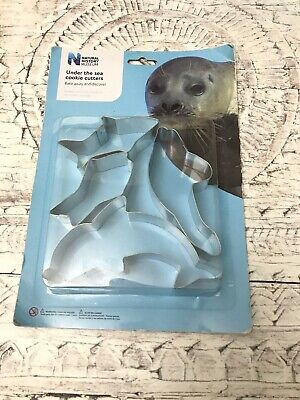 Under The Sea Cookie Biscuit Shape Cutters Dolphin Fish Seal Natural History • 5£