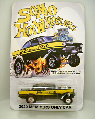 $23.50 • Buy Hot Wheels Southern Missouri Collectors 55 Chevy Gasser Redline Real Riders 1/60