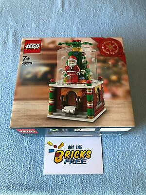 AU89.99 • Buy Lego Exclusive 40223 Snowglobe Limited Edition New/Sealed/Retired/Hard To Find
