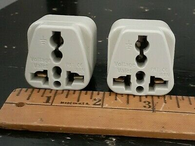 AU5.34 • Buy Universal Travel Adapter 3 Pin Plug Adapter To Universal Outlet Converter Set Of