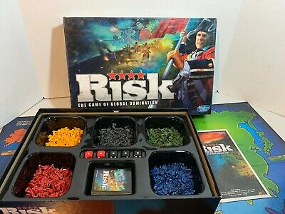 $23.99 • Buy Risk Board Game Global Domination 2010 Edition Hasbro Complete Sorted Fast Ship!