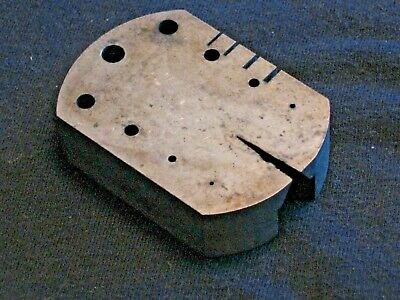 $ CDN17.02 • Buy Vintage Oval 9 Graduated Hole 4 Mill Slot Staking Anvil - Watchmaker Watch Tools