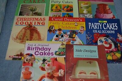 Cake Making And Decorating Books • 7£