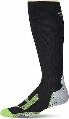 2XU Mens Compression Socks For Recovery, Black/Grey • 14.99£