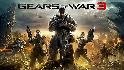 $2.99 • Buy Gears Of War 3 - Xbox 360 / Xbox One Game— Deliverer Within 24 Hours!