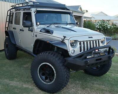 AU200 • Buy Xenon JK Wrangler Flat Panel Design Fender Flares