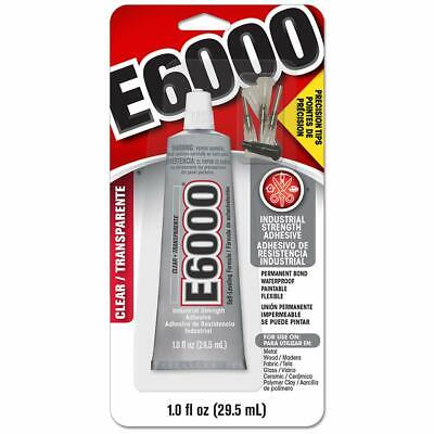 £9.76 • Buy Multi-Purpose Extra Strong Glue E6000 Craft Adhesive Clear For Metal Glass Wood