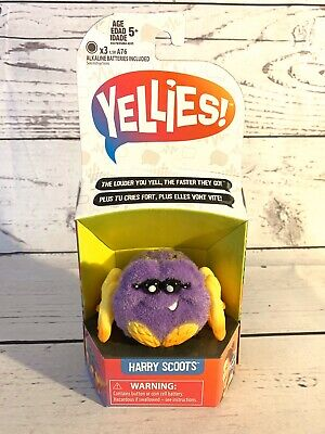 $12.99 • Buy Yellies Harry Scoots Voice-Activated Spider Pet New
