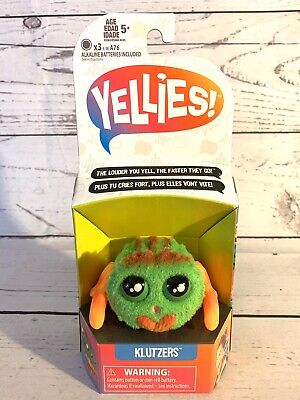 $15.99 • Buy Yellies! Klutzers; Voice-Activated Spider Pet; Hasbro NEW FREE SHIPPING Yellies