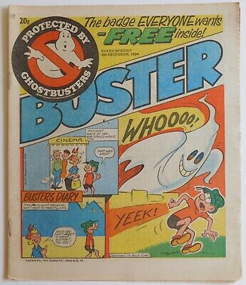 BUSTER Comic - 8th December 1984  • 2.99£