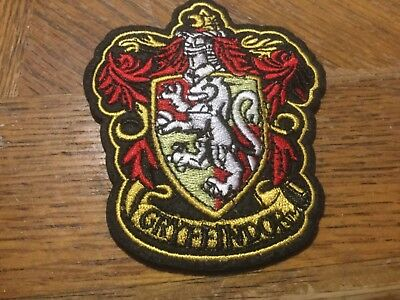 $2.95 • Buy HARRY POTTER House Of Gryffindor Large Crest Logo New Embroidered Iron-On Patch