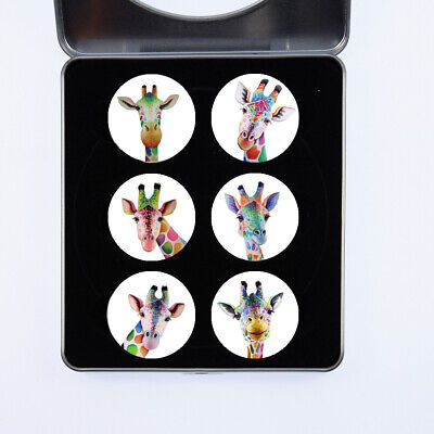 £13.99 • Buy Pattern Weights Giraffes Watercolour Design By Artist Maria Moss Sets Of 4 And 6